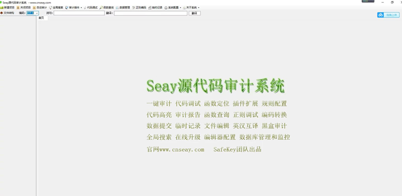 SEAY代码审计系统源码 独家去除后门/排门插图1